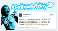 #FollowFriday, digo #FollowSaturday de Poprosa