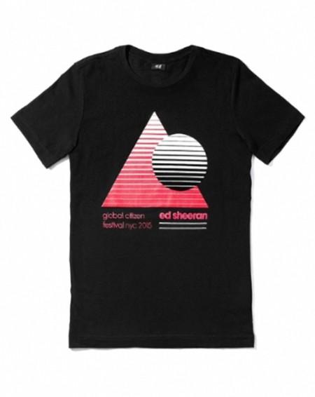 H M Coldplay Y Ed Sheeran Colaboran Disenando Camisetas Para La Caridad 2