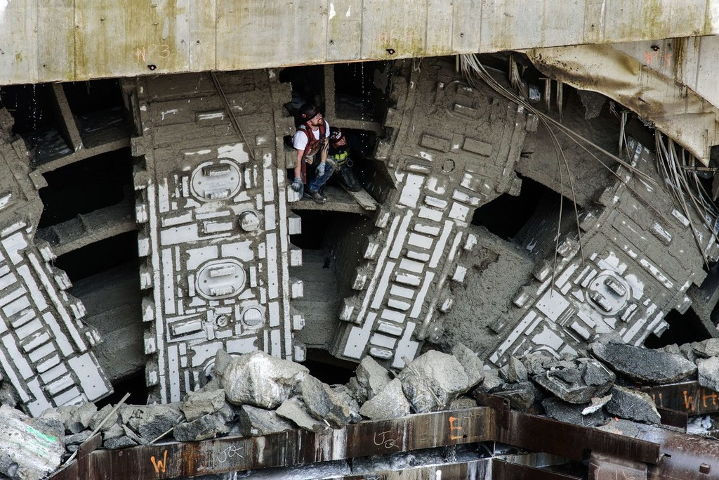 Bertha Tunneling Machine4 1
