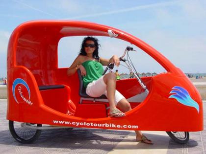 EcoFira 2007 presenta Intrepid, el triciclo verde