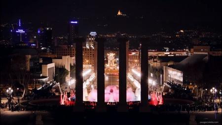 Time lapse: medianoche en Barcelona