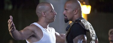 """Vin Diesel explica su conflictiva relación con Dwayne Johnson: """"No soy felliniano, pero haría cualquier cosa por conseguir interpretaciones en todo lo que produzco"""""""