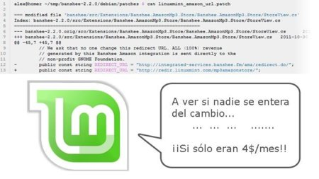 "Linux Mint ""traiciona"" a Banshee alterando su código"