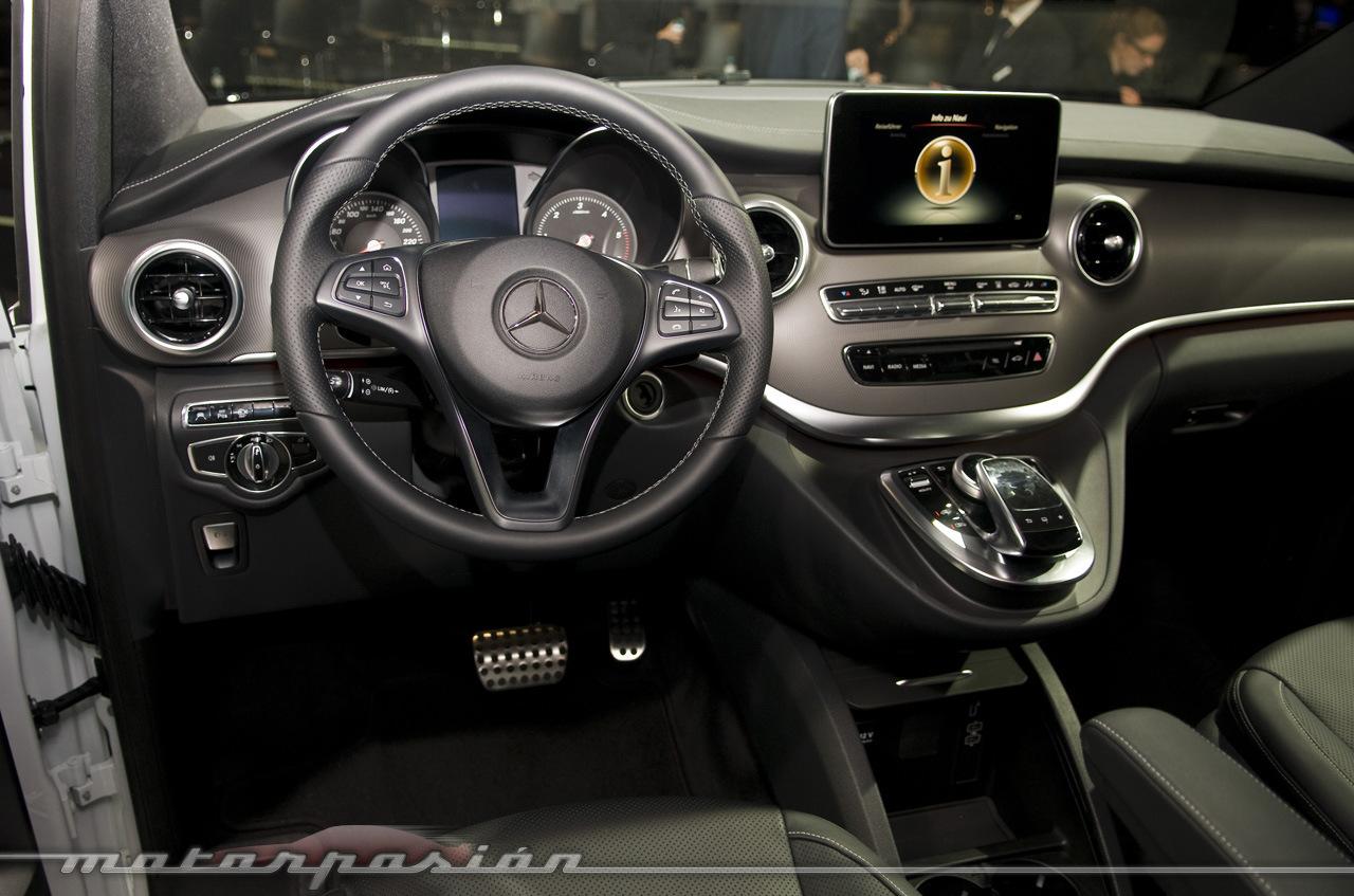 Foto de Mercedes-Benz Clase V (presentación) (32/40)