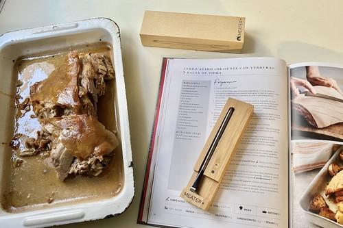No soy Arguiñano ni falta que hace: probamos el termómetro conectado de Thermomix para cocinar al punto justo asados y platos