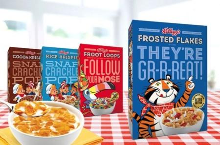 Jamás un desayuno fue tan cool: Kellogg's Retro Edition
