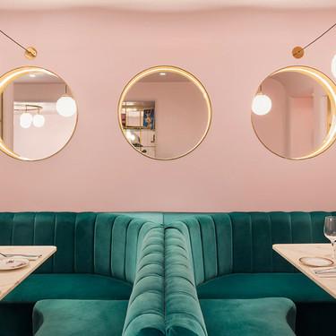 El Rosa y el Verde, una combinación que funciona en este restaurante de Londres