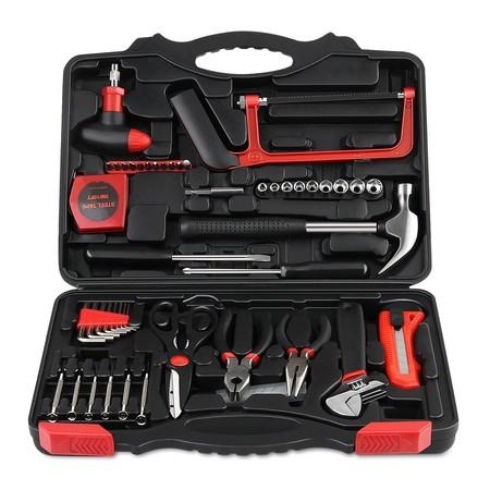 Prime Day 2018: por  25,78 euros tenemos la caja de herramientas de 57 piezas Intey en Amazon