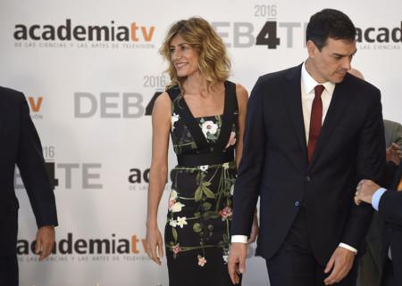 Begoña Gómez, la mujer de Pedro Sánchez, se equivoca de evento en el debate a cuatro