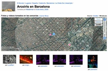 Búsquedas geolocalizadas en Flickr