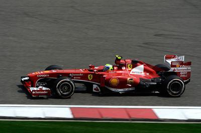Felipe Massa saca sus galones