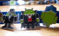Los pines Android en el MWC: uno de los episodios más curiosos de la feria de Barcelona