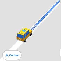 Cómo cambiar el icono de la flecha de Google Maps por un coche en 3D