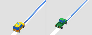 How to change the Google Maps arrow icon for a 3D car