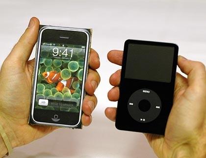 Compara el tamaño del iPhone con otros gadgets