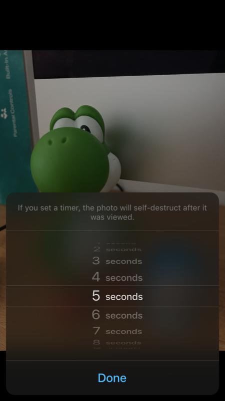 Telegram Temporizador Fotos