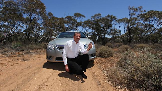 David Zacher, perdido en el desierto
