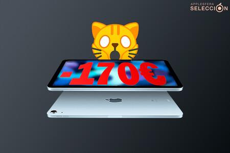 Acceso a Internet desde (casi) cualquier parte con el iPad Air (2020) Cellular de 64 GB a 618,07 euros en Amazon, mínimo histórico
