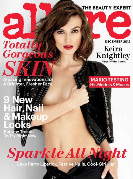 Consigue el look de Keira Knightley en la portada Allure, tan fácil como resultón