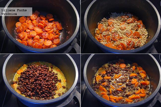 Radio gym sopa de quinoa con alubias y zanahoria receta - Calorias alubias cocidas ...