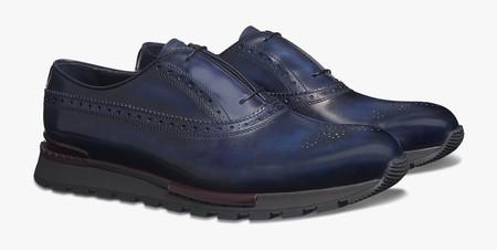 Entre Un Sneaker Y Un Wingtip Estos Zapatos De Berluti Son El Must Definitivo De Invierno