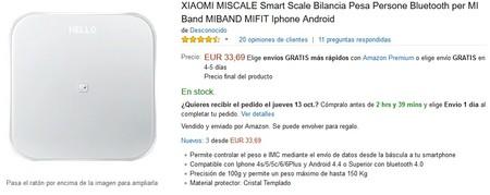 Bascula Xiaomi