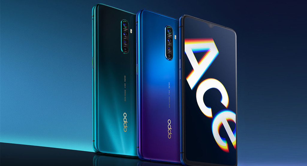 OPPO Reno Aces: Snapdragon 855+, camera 48MP, and the fast load faster