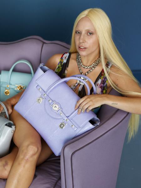 Lady Gaga para Versace