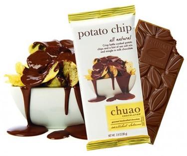 El snack definitivo: chocolatina con papas