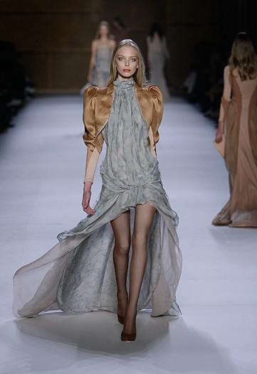 Nina Ricci en la Semana de la Moda de París primavera-verano 2009