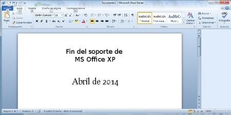 MS Office 2003 también finaliza su soporte en menos de dos años