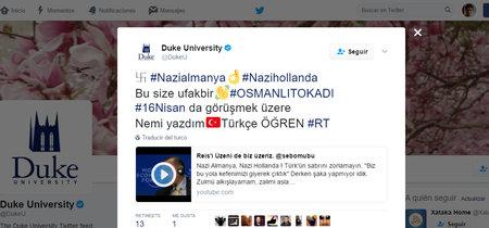 Cientos de cuentas de Twitter son hackeadas para acusar de nazis a Holanda y Alemania