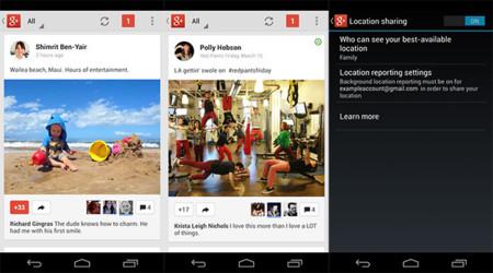 Google+ localización Android