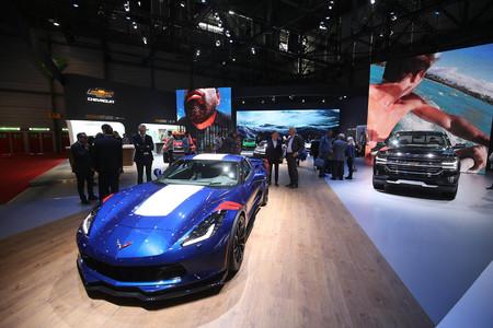 Corvette Salón de Ginebra 2017