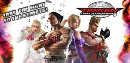 Namco lanza Tekken Card Tournament en Google Play