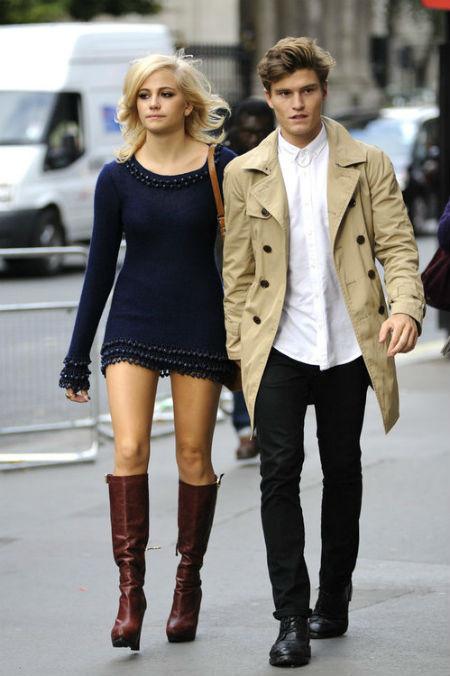 Moda para hombres: al ritmo de Oliver Cheshire y Pixie Lott