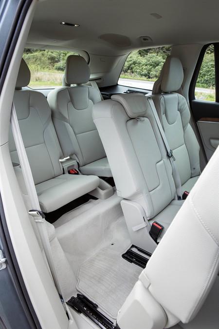 Volvo Xc90 tercera fila asientos