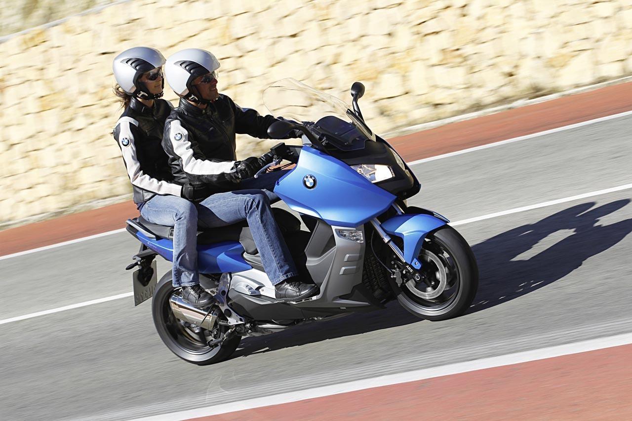Foto de BMW C 650 GT y BMW C 600 Sport, acción (13/83)