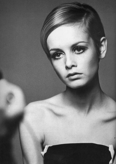 Keira Knightley en plan Twiggy