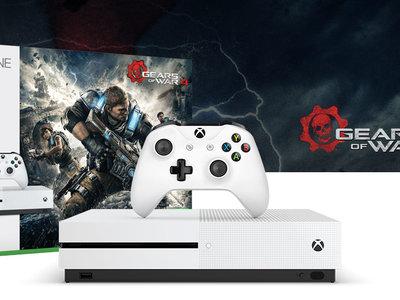 Xbox One S 1TB + Gears of War 4 por 289,95€ y envío gratis en Amazon