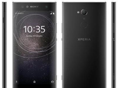 Este sería el nuevo diseño de smartphones de gama media y baja de Sony: marcos grandes pero sensor de huellas en la parte trasera