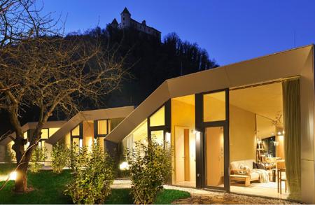 Apartamentos con vistas a un castillo esloveno