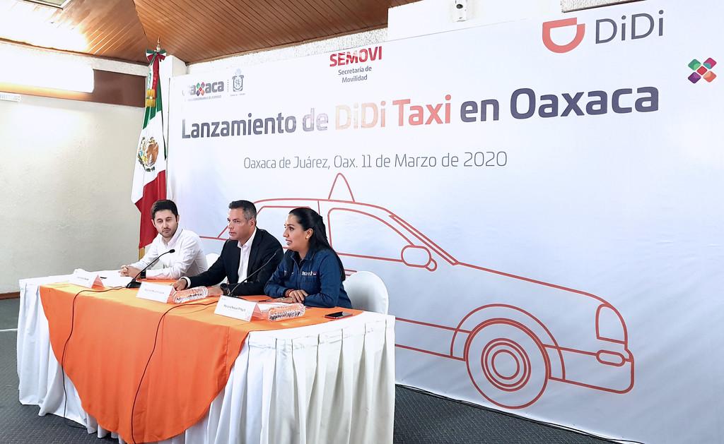 """DiDi Taxi llega a Oaxaca: ya será posible pedir un taxi """"tradicional"""" por medio de la app"""