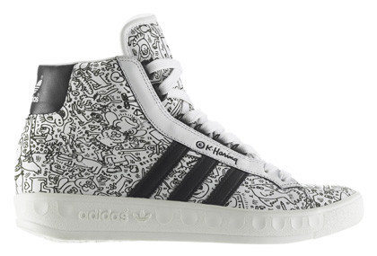 Adidas Keith Haring and Jeremy Scott