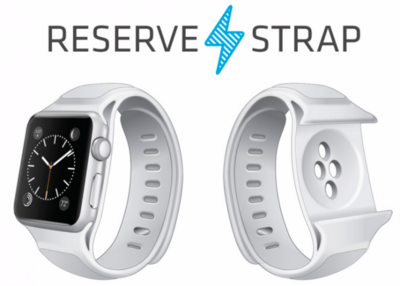 ¿Preocupado por la autonomía del Apple Watch? pues esta correa podría ser la solución