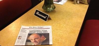 La reserva de la mesa de la última escena de 'Los Soprano', la imagen de la semana