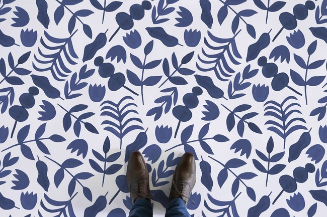 Web Blue Feet