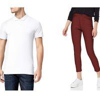 Chollos en tallas sueltas por menos de 20 euros en pantalones, polos y camisetas de marcas como Jack & Jones y Springfield en Amazon