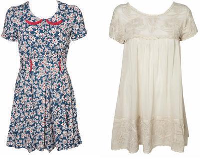 Los vestidos primavera-verano 2009 de Kate Moss para Topshop