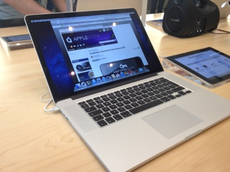 El nuevo MacBook Pro cuenta únicamente con una batería un 30% superior a la del anterior modelo